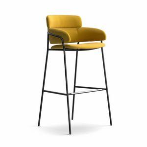 Strike ST, Moderne und robuste Hocker, verschiedene Beschichtungen, f�r Bars