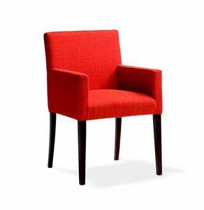 242 Relax/P, Gefüllter kleiner Sessel für Hotels