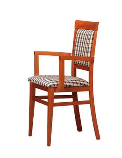 313 P, Sessel in Buche für Bars und Pizzerien