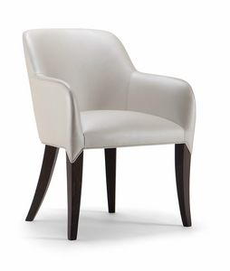 ALYSON ARMCHAIR 048 PO, Gepolsterter kleiner Sessel