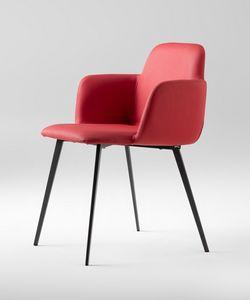 ART. 0031-MET-CB-UPH BARDOT, Gepolsterter kleiner Sessel