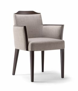 BOSTON ARMCHAIR 010 PB, Moderner Stuhl für den Vertragsgebrauch
