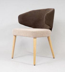 BS488A - Stuhl, Stuhl mit umhüllender Rückenlehne