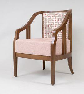 BS502A - Sessel, Sessel aus Buchenholz