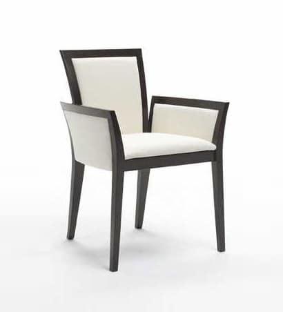 C22, Sessel mit Armlehnen aus Buchenholz, für Wohn- und Objekt Verwendung