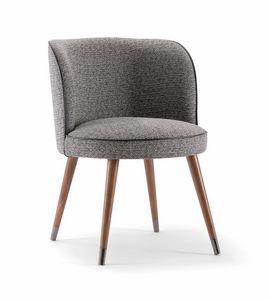 CANDY CHAIR 061 PO, Sessel mit umhüllender Rückenlehne