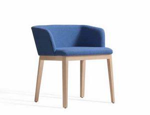 Concord 521BM, Gepolsterter Sessel mit Holzstruktur