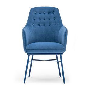 Danielle 03635K, Sessel mit Rückenlehne mit Knöpfen