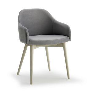 Emma P, Stuhl mit Aschenbeinen
