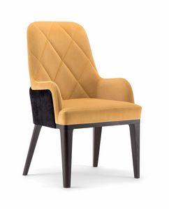 GILL HIGH BACK CHAIR 070 PL, Sessel mit hoher Rückenlehne