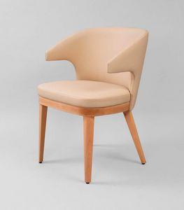 M40, Gepolsterter Stuhl mit Armlehnen