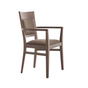 MP472BP, Bequemer Stuhl mit Armlehnen für Hotels