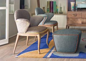 Rolling Stuhl mit Armlehnen, Lehrstuhl für Haus- und Objektnutzung