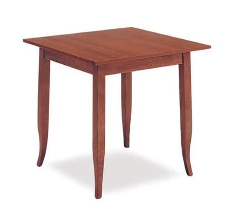 FT 600, Klassische Holztisch, für Hotel und Restaurant