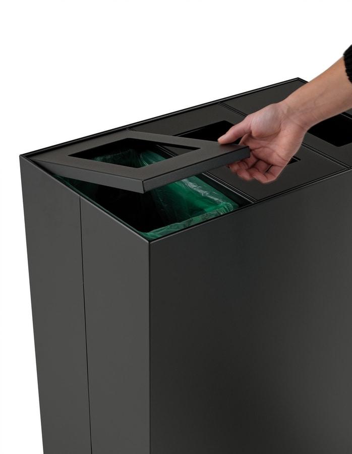 Maximo, Papierkorb zur getrennten Sammlung