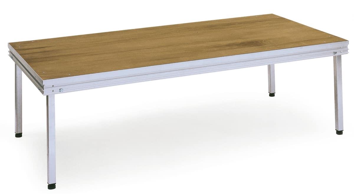 Praktikus, Aggregierte Plattform mit abnehmbaren Beinen, für den Außeneinsatz