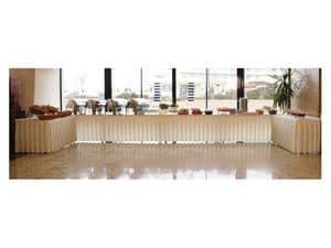 Pro Deco, Skirting für Tische und Plattformen für Buffet und Catering