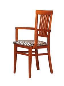 316 P, Holzstuhl, einfachen Stil, für Restaurant