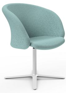 Junea, Gepolsterter Sessel für Hotels und Gemeinden