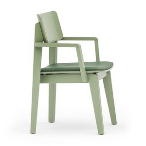 Offset 02822, Vielseitig Stuhl mit Armlehnen in verschiedenen Ausführungen erhältlich