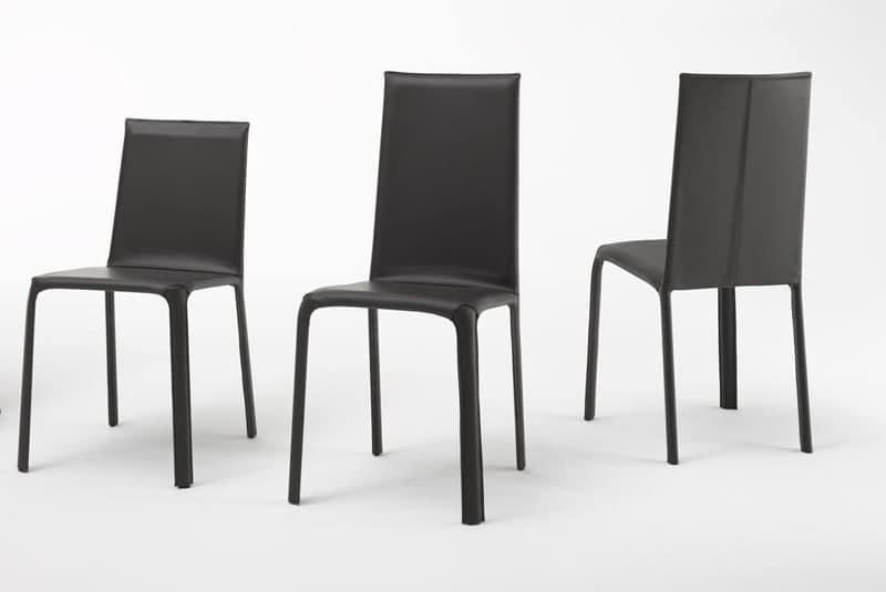 Jenia low, Low-backed Stuhl für Wohn-und Objektbereich