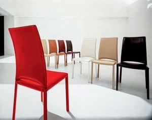 MADELEINE, Leder moderner Stuhl, für Konferenzraum und Restaurants