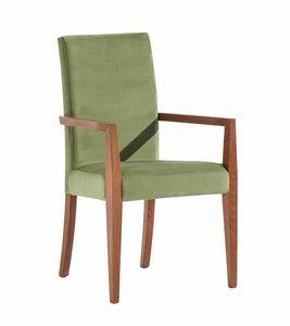 C03P, Moderner Stuhl mit Armlehnen