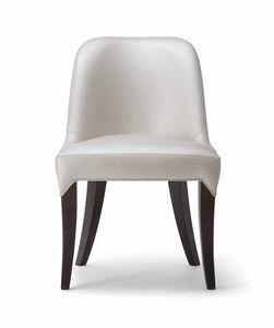 ALYSON SIDE CHAIR 048 S, Gewundener und einladender Stuhl