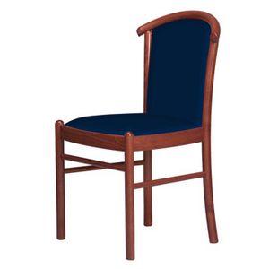C09, Stuhl mit Holzsockel, gepolstert, für Hotels und Restaurants