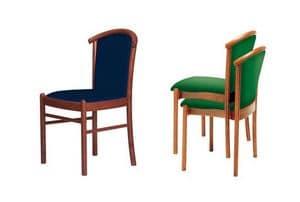C09 STK, Stuhl mit Massivholzstruktur, für die Gaststätten