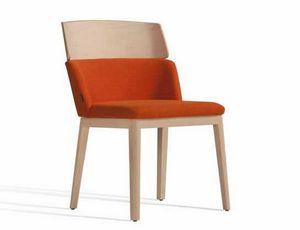 Concord 522WM, Gepolsterter Stuhl aus Holz, für Hotels und Gastgewerbe