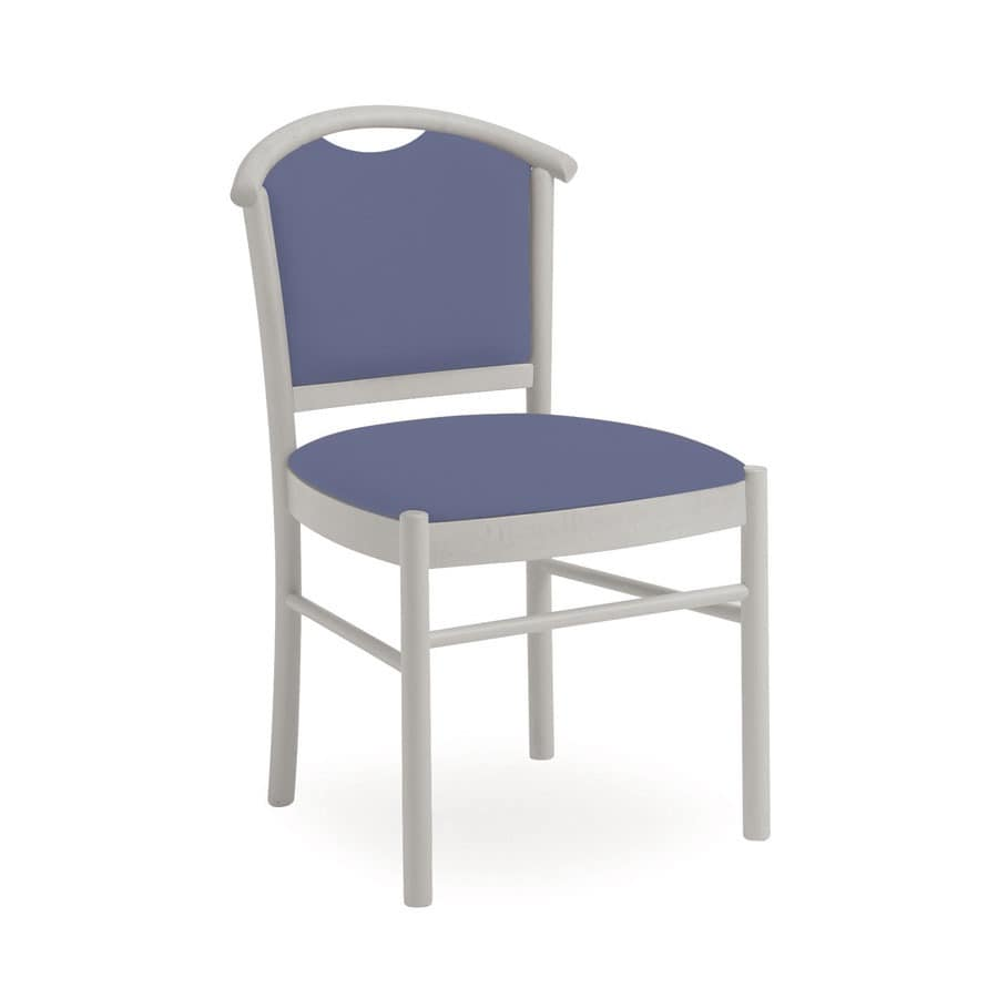 Dolly L1047 M, Holzstuhl, komfortabel und handlich für Restaurant