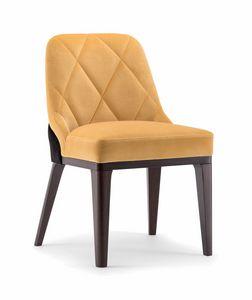 GILL SIDE CHAIR 070 S, Optimaler Stuhl für Restaurants und Hotels