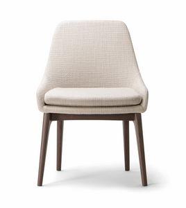 JO CHAIR 058 S, Robuster Stuhl mit elegantem Design
