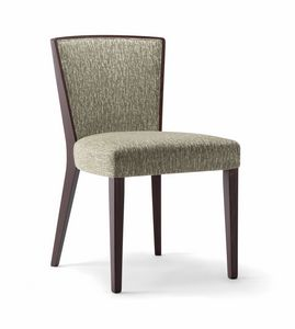 LONDON SIDE CHAIR 016 S, Bequemer Holzstuhl