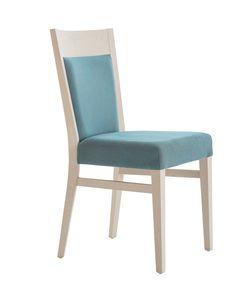 MP472E, Gepolsterter Stuhl für Hotel