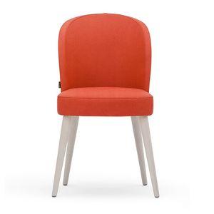 Rose 03011, Stuhl in Schaum, mit gedrechselten Beinen und Sitzgürtel