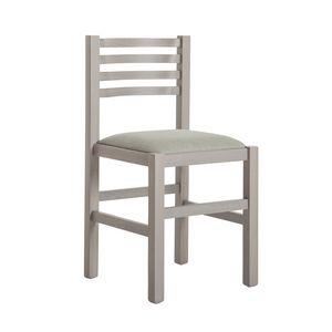 RP404Q, Stuhl aus Buchenholz mit gepolstertem Sitz