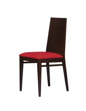 M11, Stuhl mit Buchenholzrahmen, getäfelten zurück