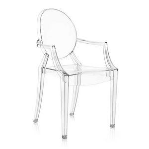 Louis Ghost, Transparenter Sessel zum Outlet-Preis