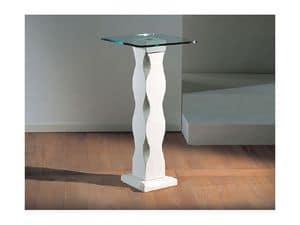 Matisse, Tisch mit Steinsäule und Glasplatte