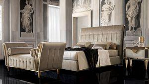 DIAMANTE upholstered bed, Gepolstertes Bett, mit klassischem Stil