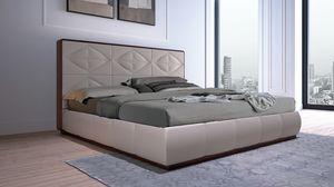 LEP14 Lux Chic Bett, Bett gekennzeichnet durch die Geometrie der Linien