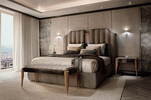 LEXINGTON AVENUE Bett, Luxusbett mit gepolstertem Kopfteil