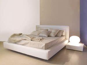 Master, Einfachen Stil moderne Bett mit breiten Rahmen