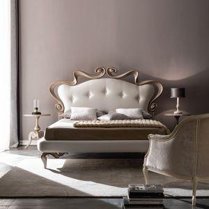 Melissa Soft Art. 912, Bett mit einem romantischen und eleganten Geschmack