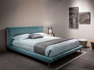 Shangai Bett, Bett mit nicht verformbarer Polsterung