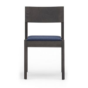 Maki 03712, Holzstuhl ohne Armlehnen, stapelbar