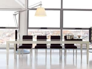 Morgana, Stuhl aus Massivholz, für Heim und Büro