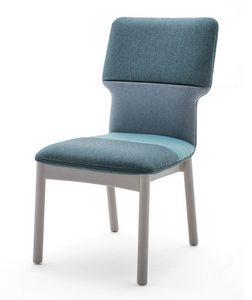 Twiggy 04111, Stuhl mit Holz bezogen